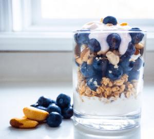 Live and Love Nutrition Blueberry Yogurt Parfait Recipe