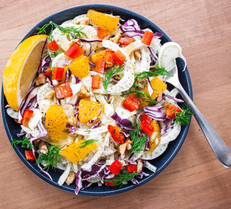 Live and Love Nutrition Fennel Orange Salad Recipe